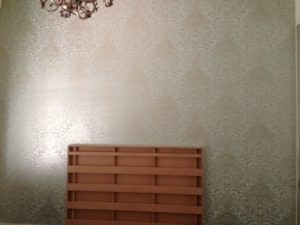 ColourFuse Wallpaper Installation - Damask