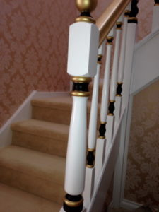 ColourFuse Wallpaper Installation - Complex stairwell job