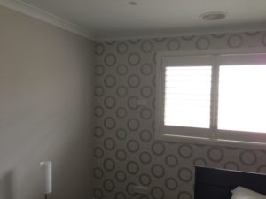 ColourFuse Wallpaper Installation - Dina Grey and Silver Wallpaper