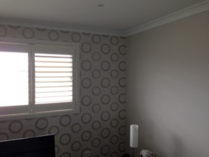 ColourFuse Wallpaper Installation - Dina Grey and Silver from Silk Interiors Wallpaper
