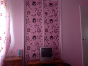 ColourFuse Wallpaper Installation - Kids Pink Wallpaper