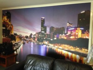 ColourFuse Wallpaper Installation - Melbourne mural