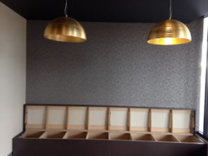 ColourFuse Wallpaper Installation - Subtle design wallpaper