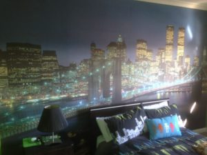 ColourFuse Wallpaper Installation - New York Mural