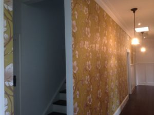 ColourFuse Wallpaper Installation - Wallpaper design from Silk interiors Wallpaper
