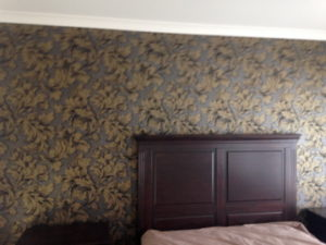 ColourFuse Wallpaper Installation - Floral wallpaper