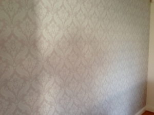 ColourFuse Wallpaper Installation - Classic Damask