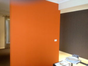 ColourFuse Wallpaper Installation - Contrasted walls