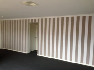 ColourFuse Wallpaper Installation - Vertical Stripes