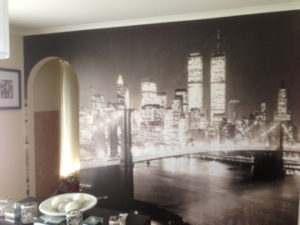 ColourFuse Wallpaper Installation - New York Cityscape Mural